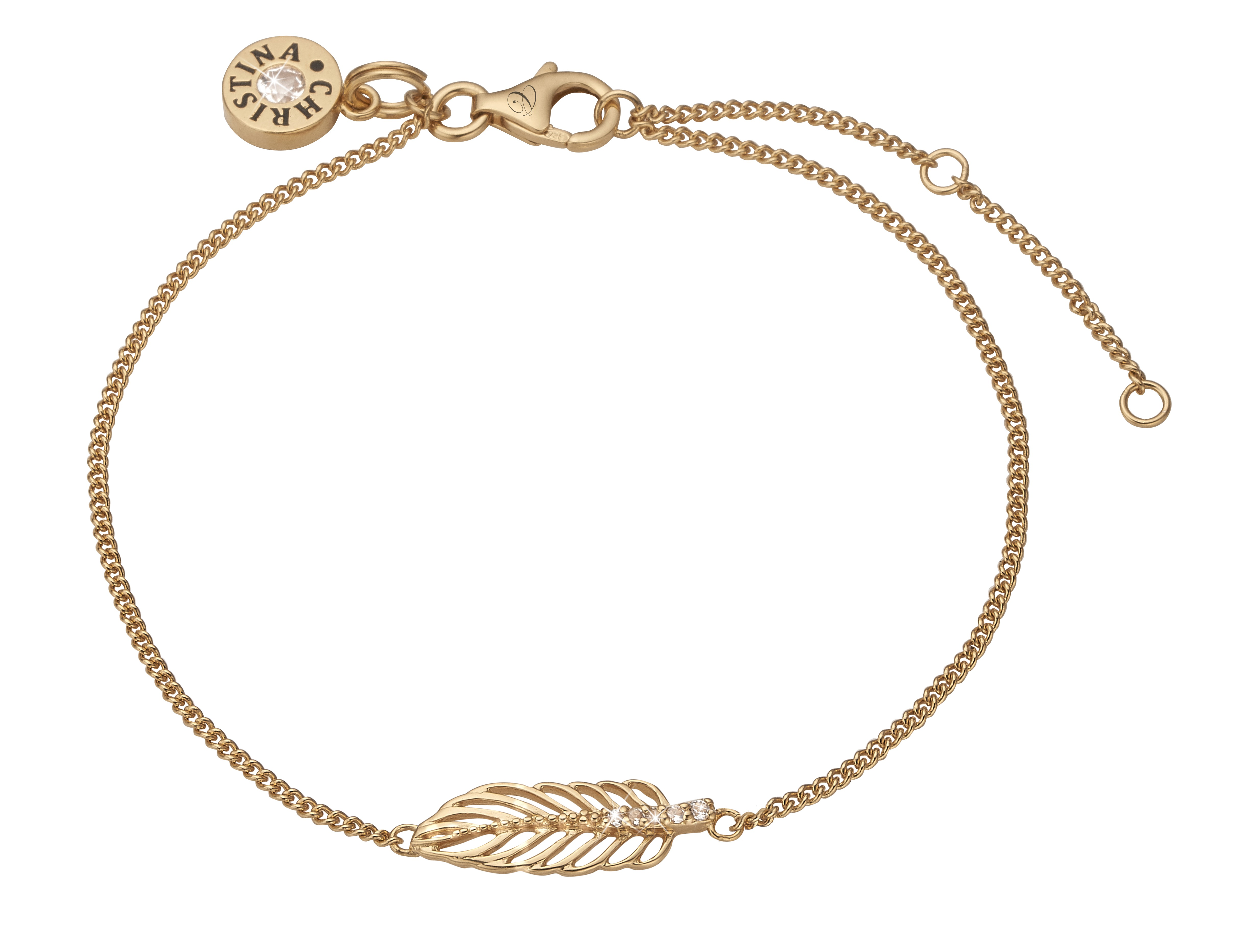 Image of   Christina Feather armbånd - 601-G04