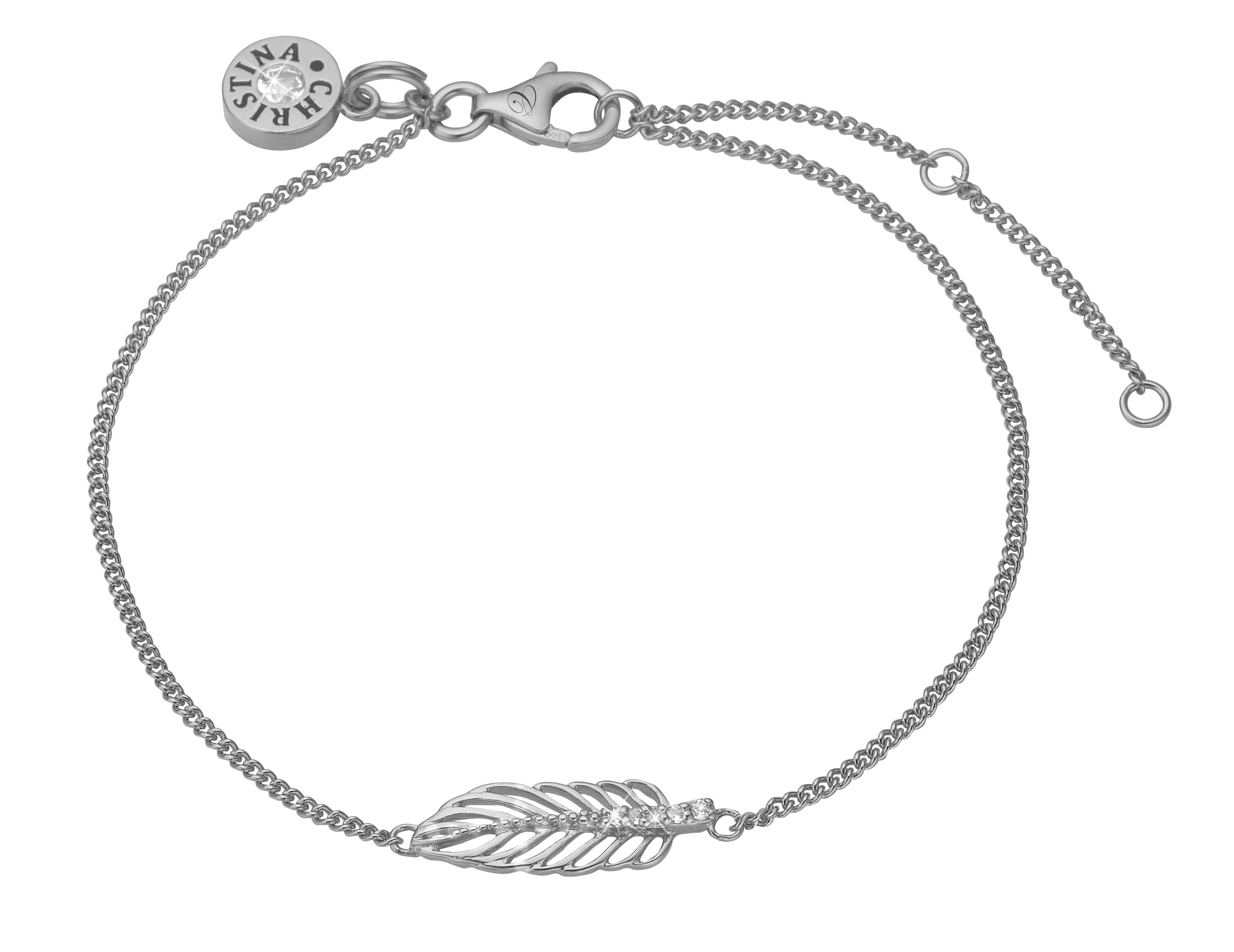 Image of   Christina Feather armbånd - 601-S04