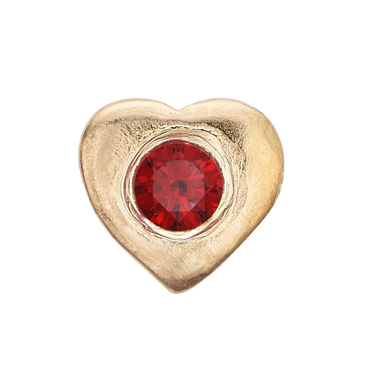 Christina collect ruby heart - 603-g2 fra christina watches fra brodersen + kobborg