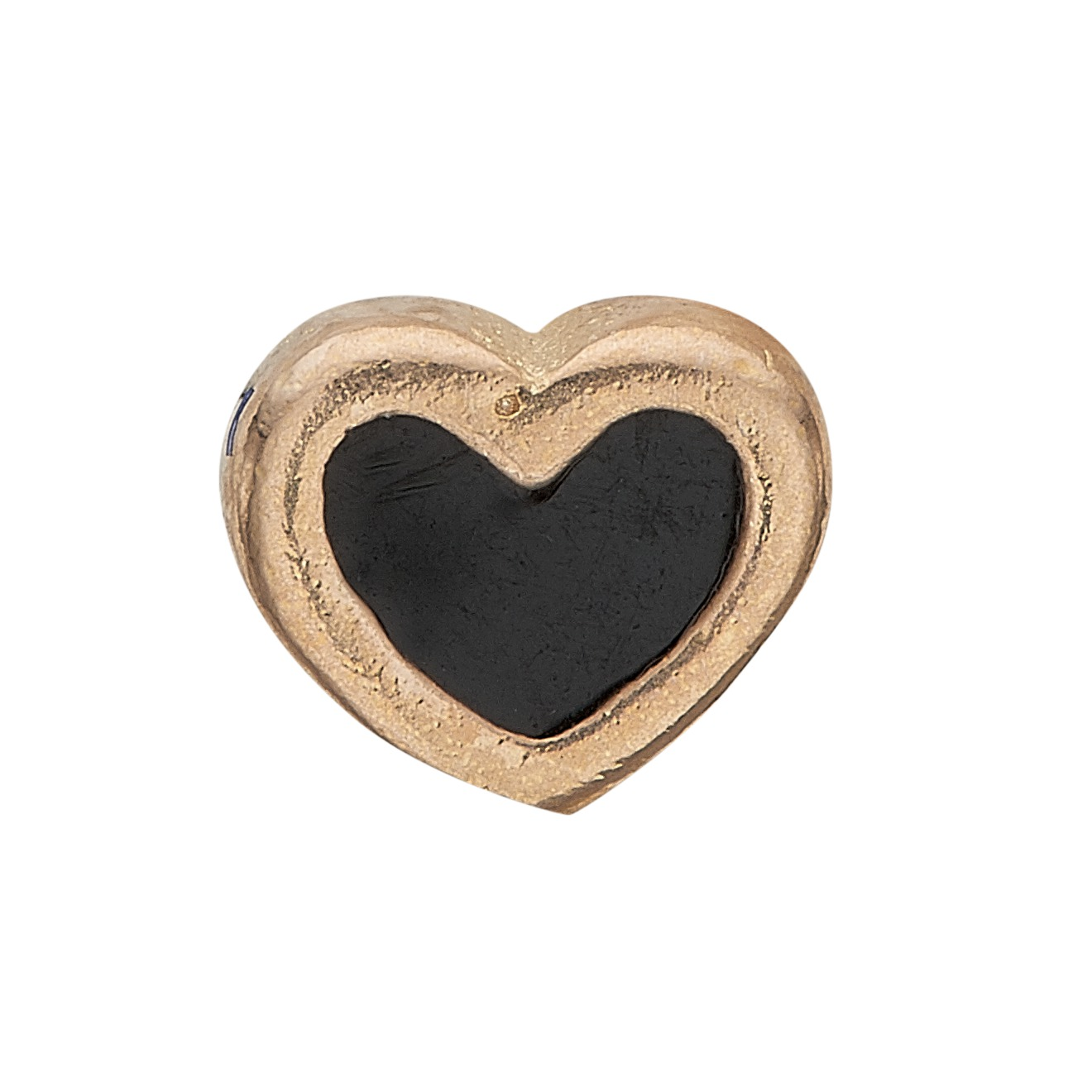 Image of   CHRISTINA Collect Black Enamel Heart - 603-G4