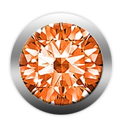 christina watches – Christina orange sapphire - 603-orange på brodersen + kobborg
