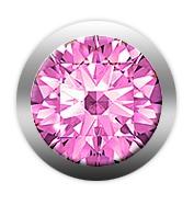 christina watches Christina pink sapphire gemstone - 603-pink på brodersen + kobborg