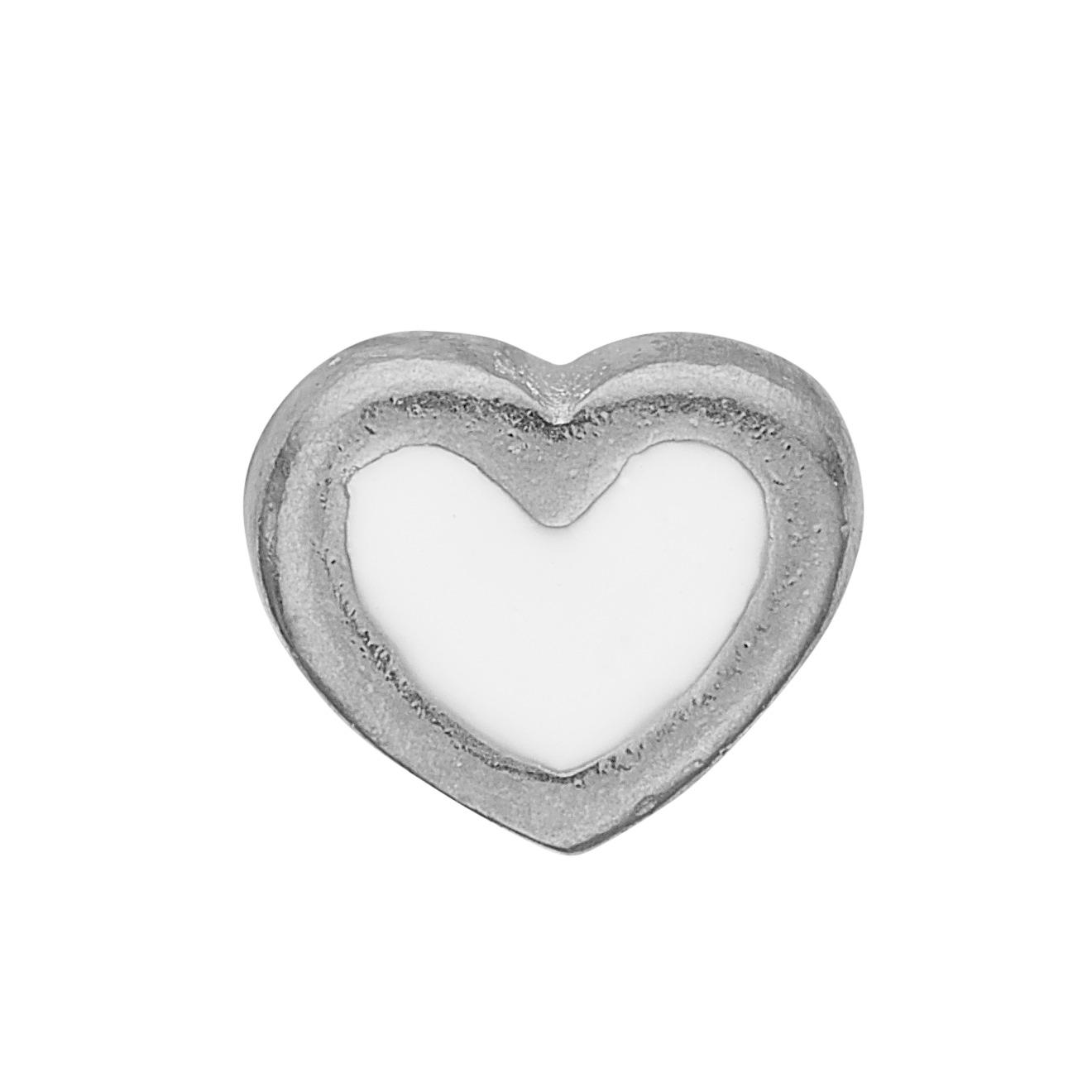 christina watches Christina collect white enamel heart - 603-s3 på brodersen + kobborg