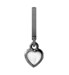 Image of   CHRISTINA Black Pearl Heart Heaven - 610-B34
