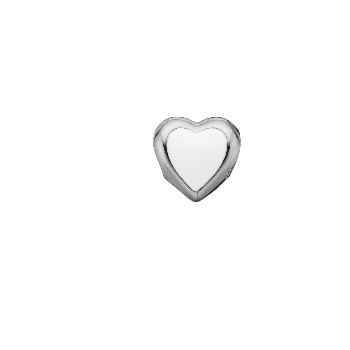 Image of   CHRISTINA, Big Enamel Heart - 623-S14
