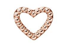 Christina rose hearts dots  - 630-r04 fra christina watches fra brodersen + kobborg