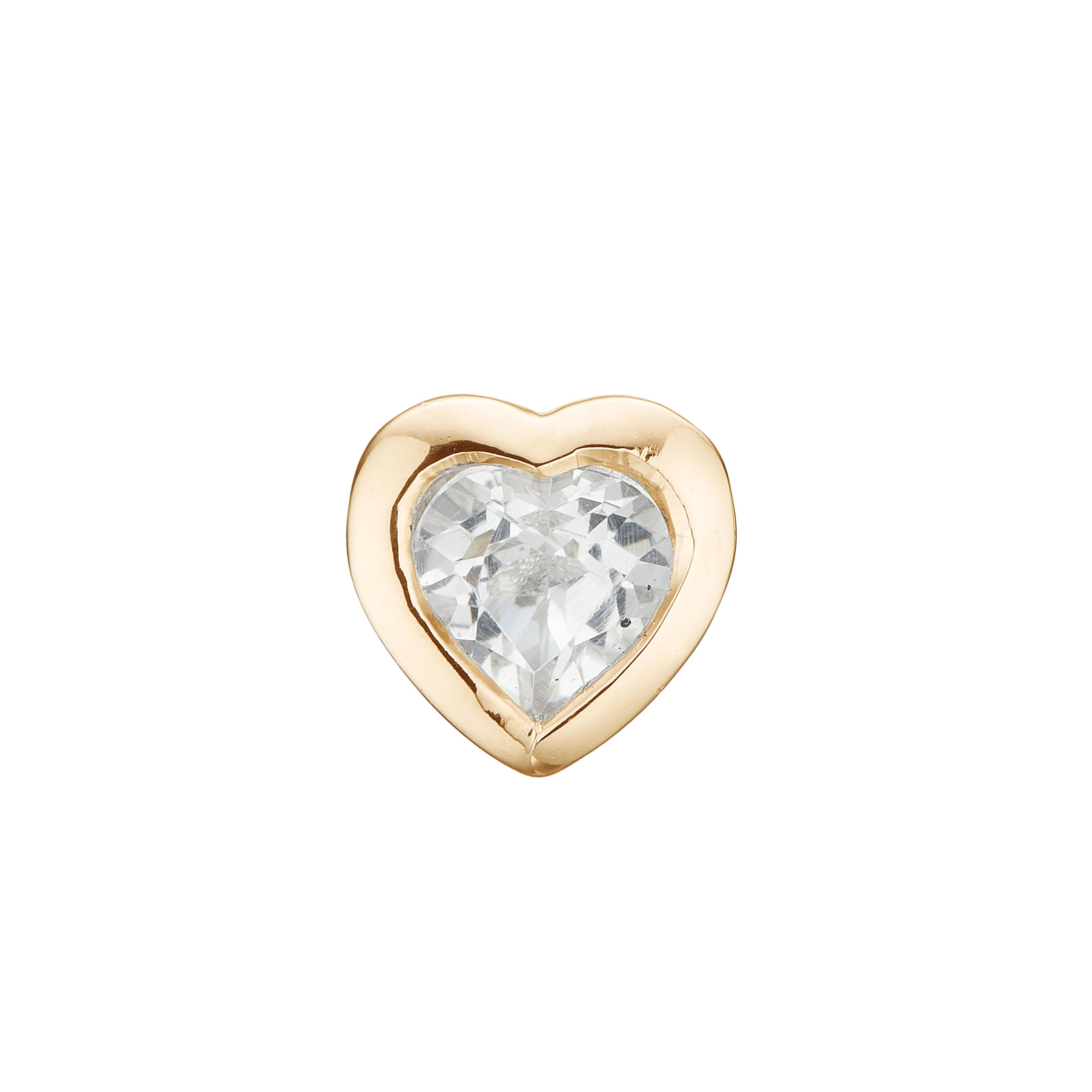 Image of   CHRISTINA Topaz Hearts - 671-G16
