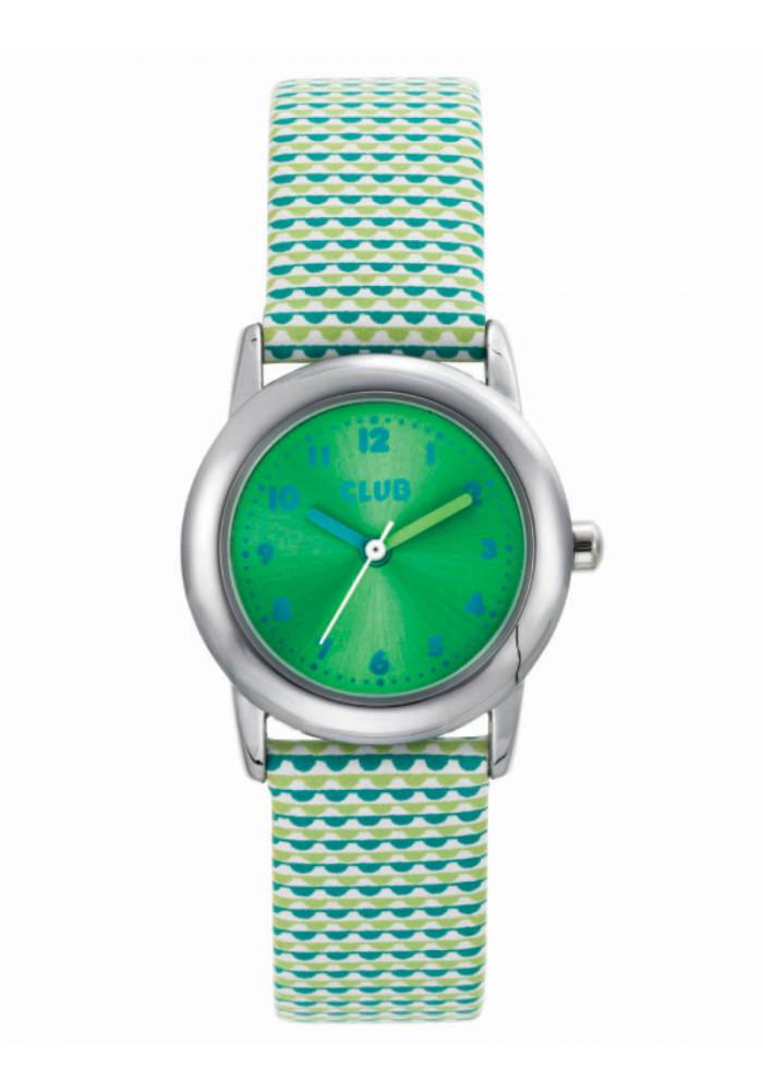 inex Club pige ur med lys grøn rem - a65183-1s12a fra brodersen + kobborg