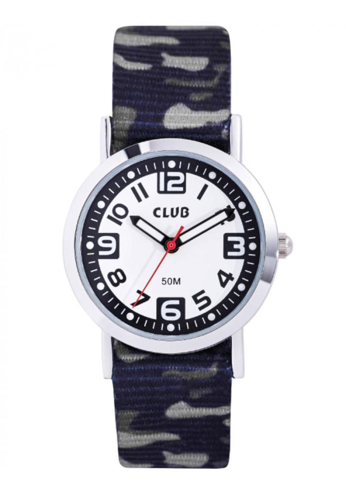 Image of Club drengeur med army print på remmen - A65184S0A