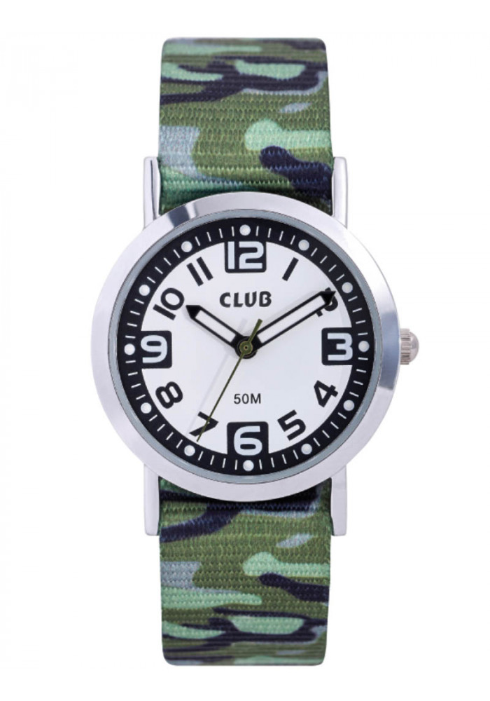 inex – Club drengeur, nylon rem med armyprint - a65184s12a på brodersen + kobborg