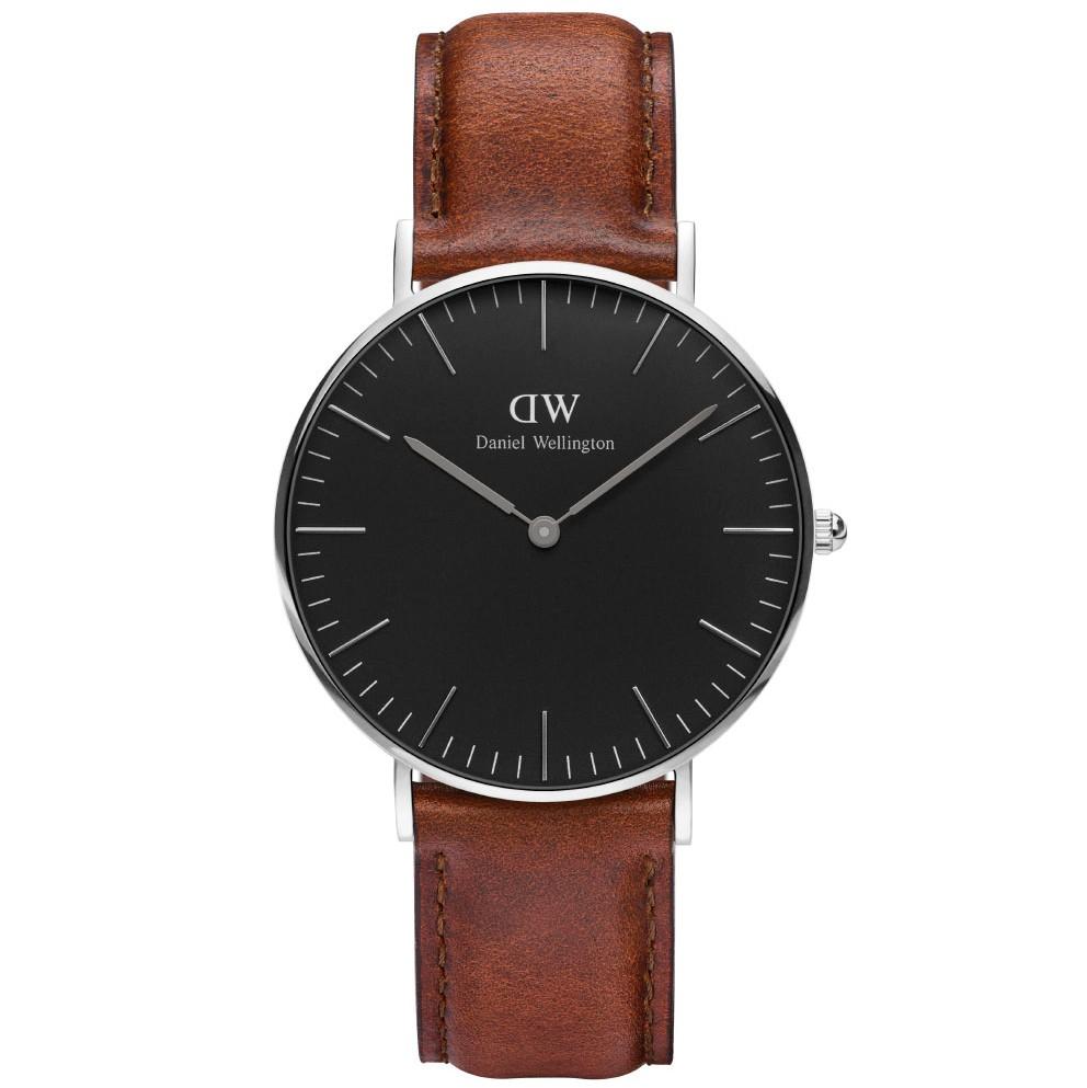 Daniel wellington classic black st mawes - adw00100142 fra daniel wellington fra brodersen + kobborg