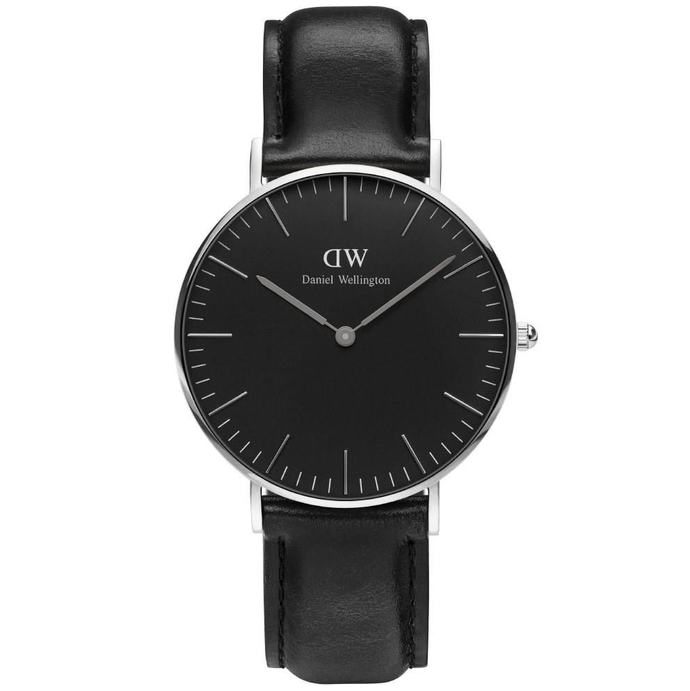 Daniel wellington classic black sheffield - adw00100145 fra daniel wellington på brodersen + kobborg