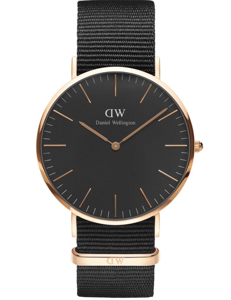 Daniel wellington classic black cornwall - adw00100148 fra daniel wellington på brodersen + kobborg