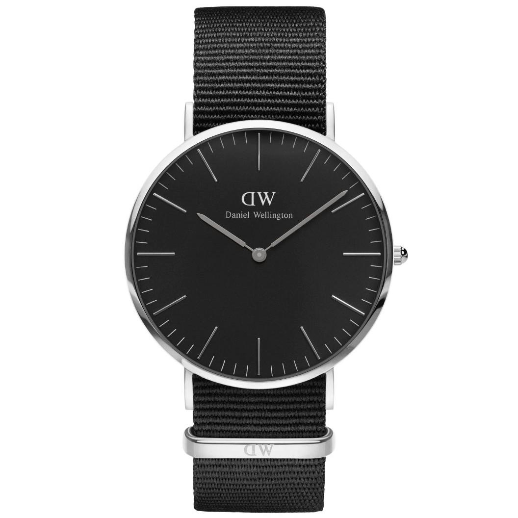 daniel wellington Daniel wellington classic black cornwall - adw00100149 på brodersen + kobborg