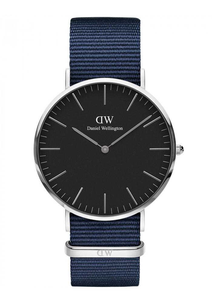 daniel wellington Daniel wellington classic black 40 mm - adw00100278 fra brodersen + kobborg