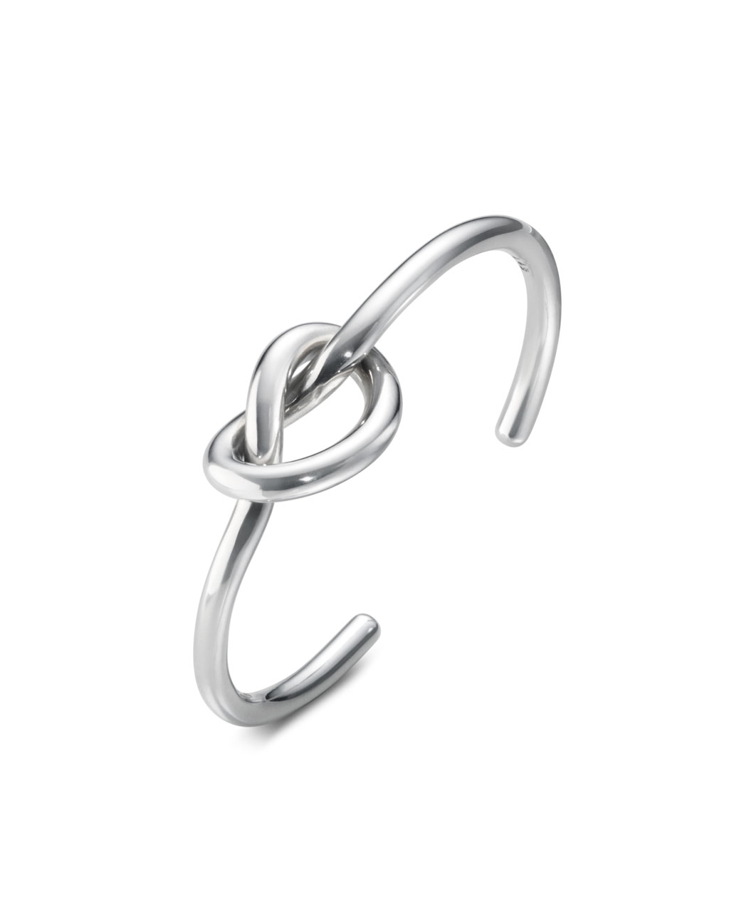 Georg Jensen LOVE KNOT SINGLE armring - 10003036 Armring størrelse L