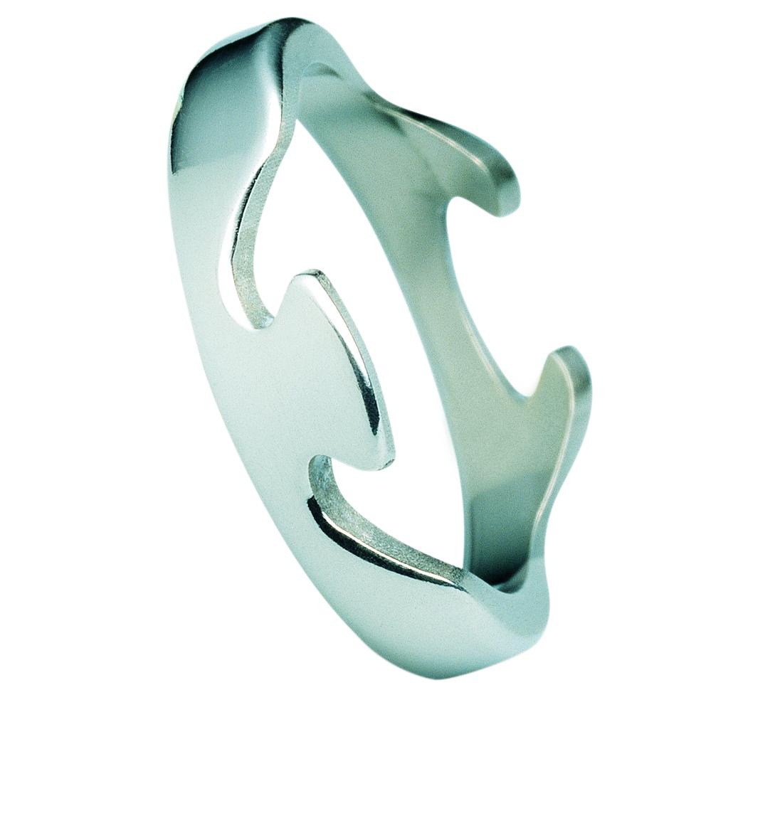 Image of   Georg Jensen FUSION ring - 3546000 Størrelse 52