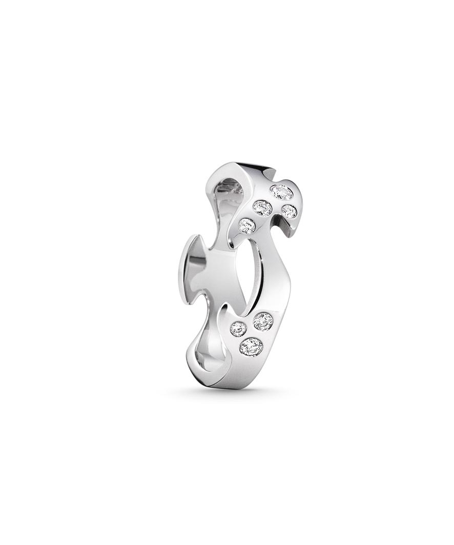 Image of   Georg Jensen FUSION ring - 3546060 Størrelse 53
