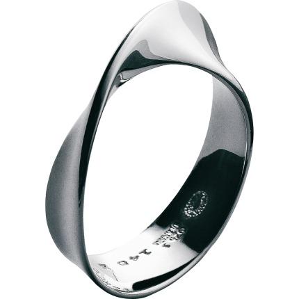 georg jensen mã–bius ring - 3551340 størrelse 60 fra georg jensen