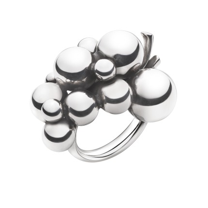 georg jensen – Georg jensen moonlight grapes ring - 3558700 størrelse 51 på brodersen + kobborg