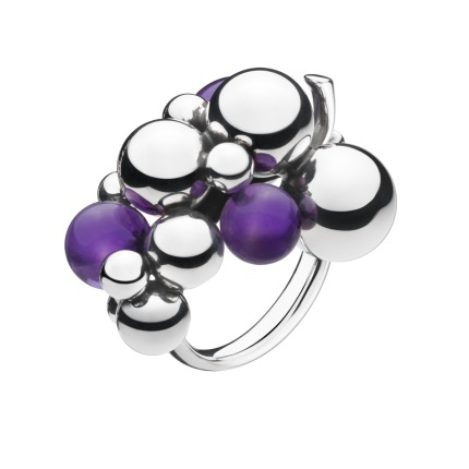 Image of   Georg Jensen MOONLIGHT GRAPES ring - 3559040