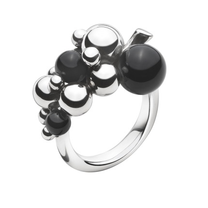 Image of   Georg Jensen MOONLIGHT GRAPES ring - 3559060 Størrelse 54