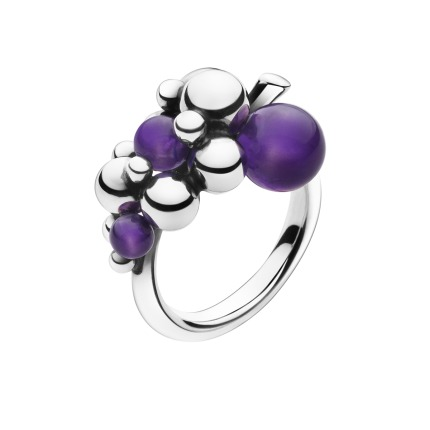 Image of   Georg Jensen MOONLIGHT GRAPES ring - 3559140