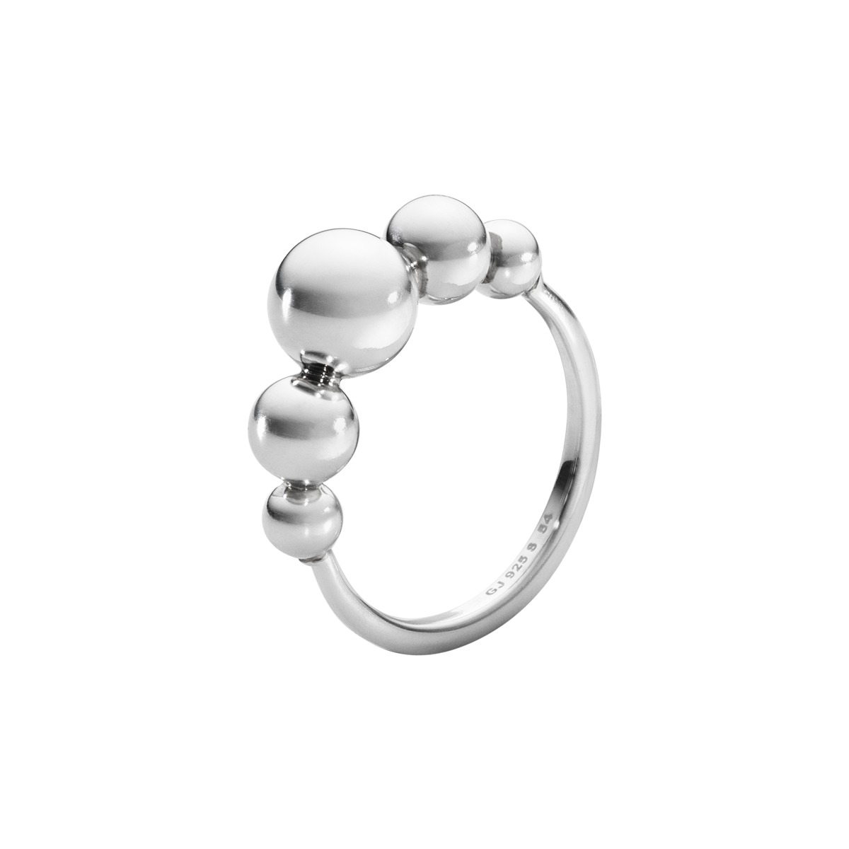 Image of   Georg Jensen MOONLIGHT GRAPES ring - 3560980 Størrelse 54