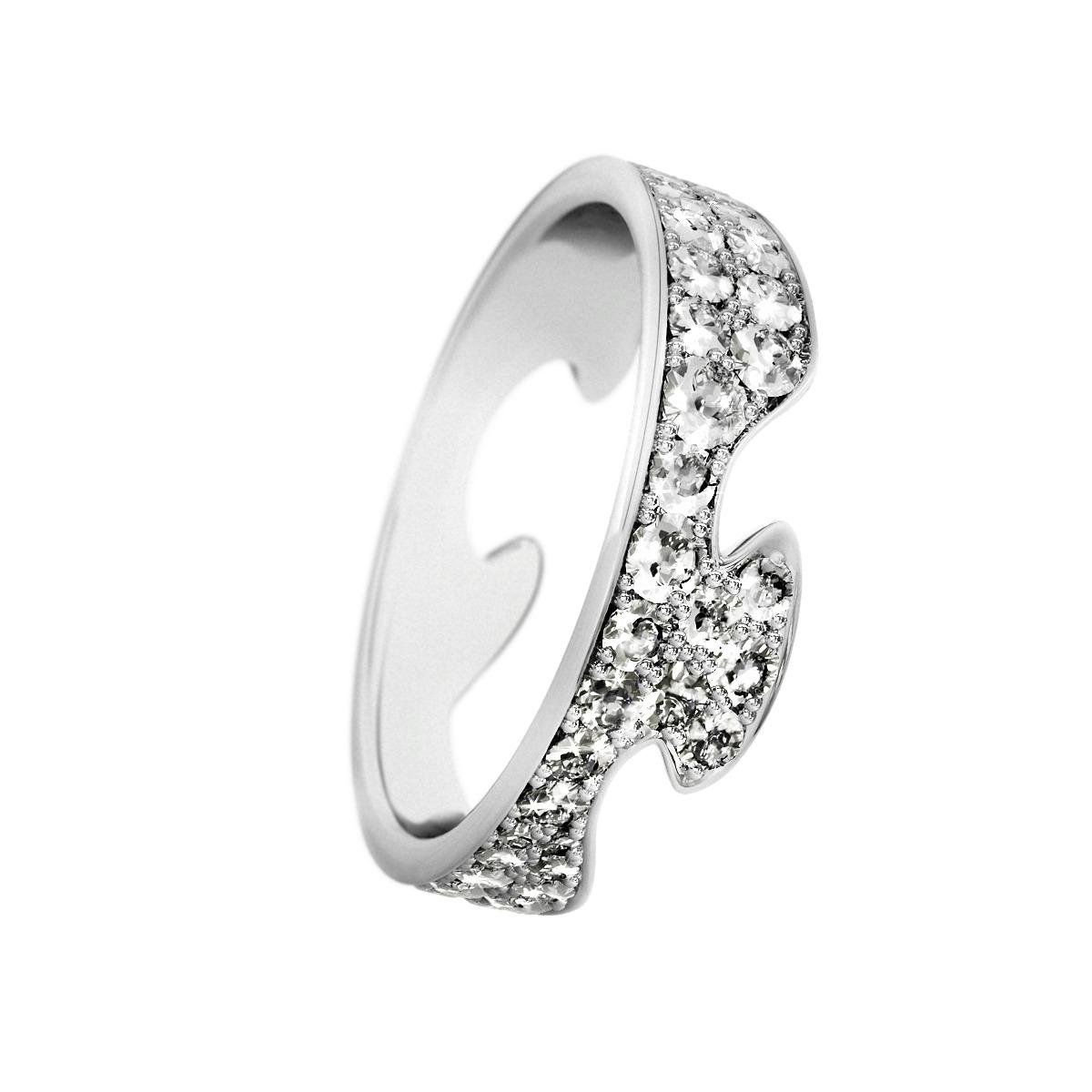 Image of   Georg Jensen FUSION ring - 3569260 Størrelse 54