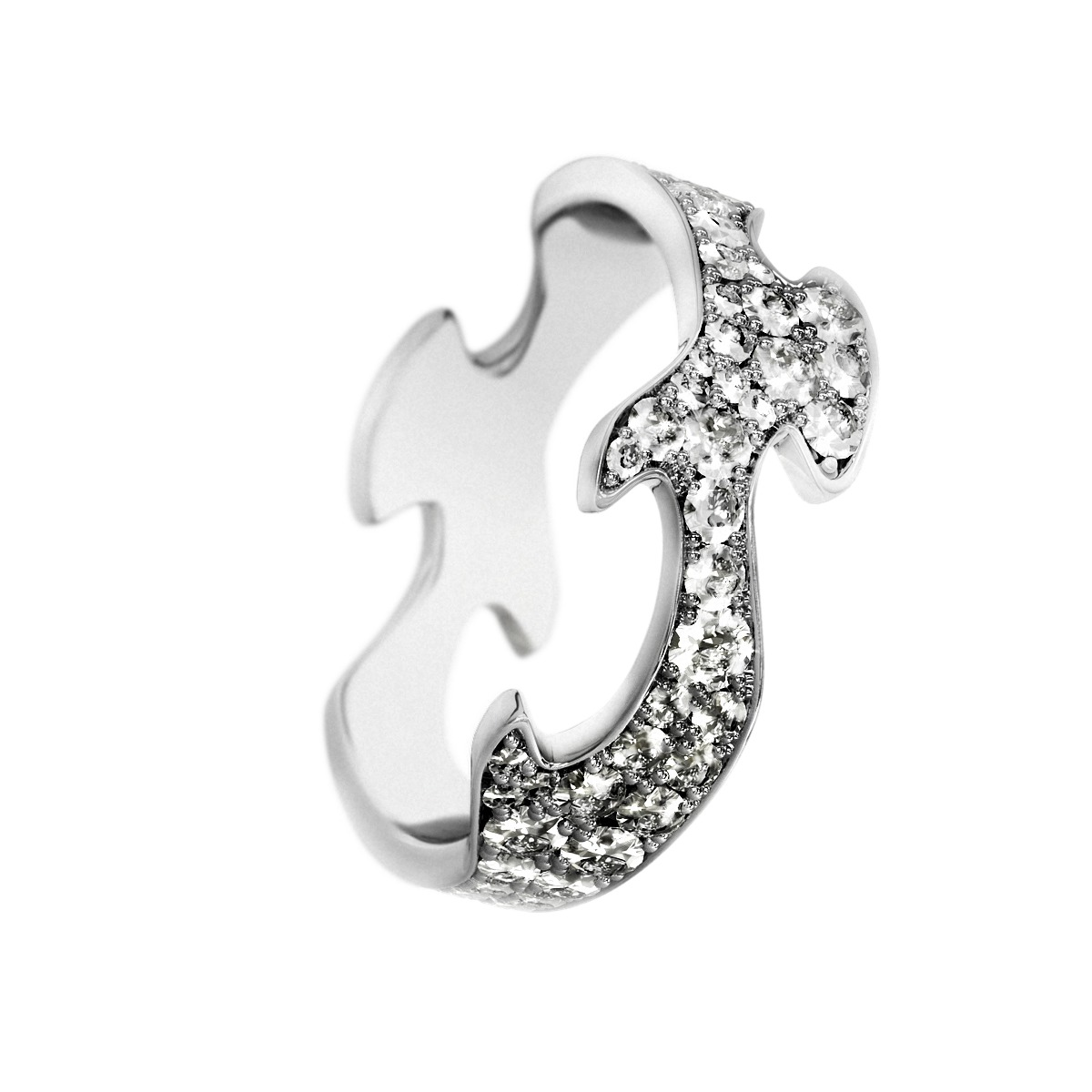Image of   Georg Jensen FUSION ring - 3569280 Størrelse 54