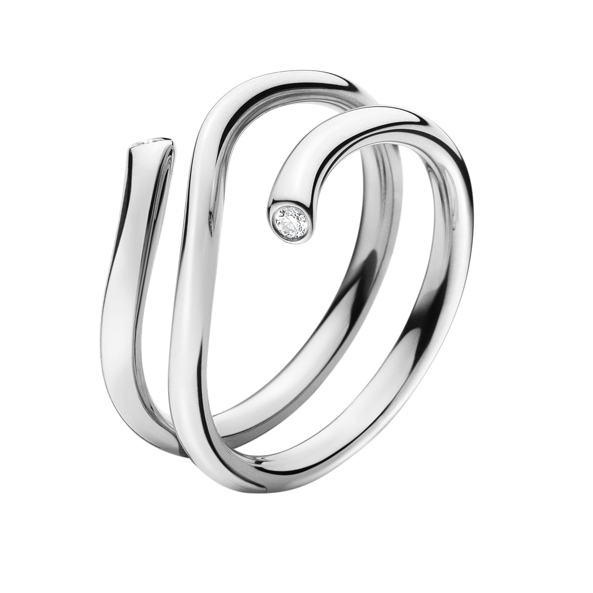 Image of   Georg Jensen MAGIC ring - 3569760 Størrelse 53