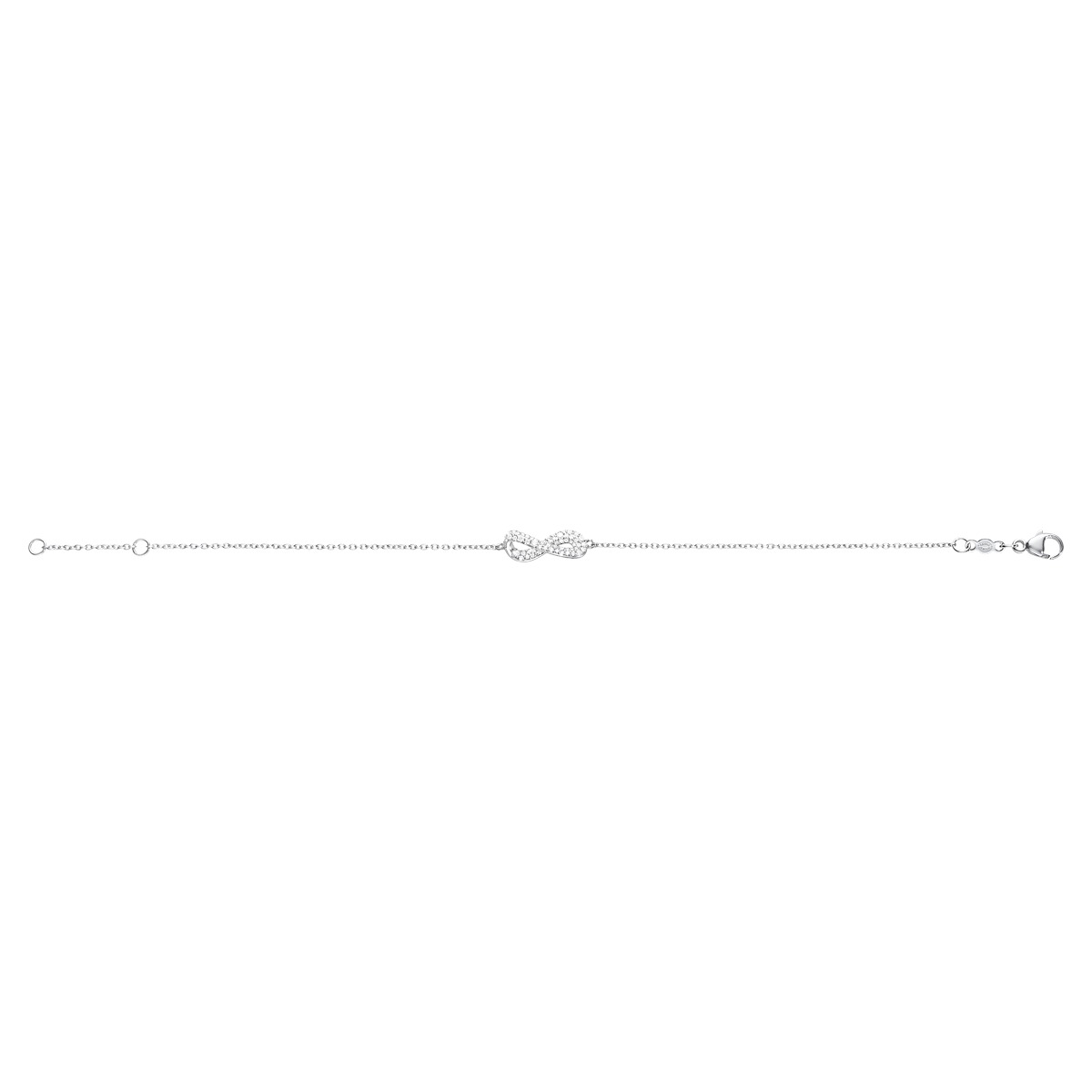 Image of Georg Jensen INFINITY armbånd - 3531194 18 centimeter