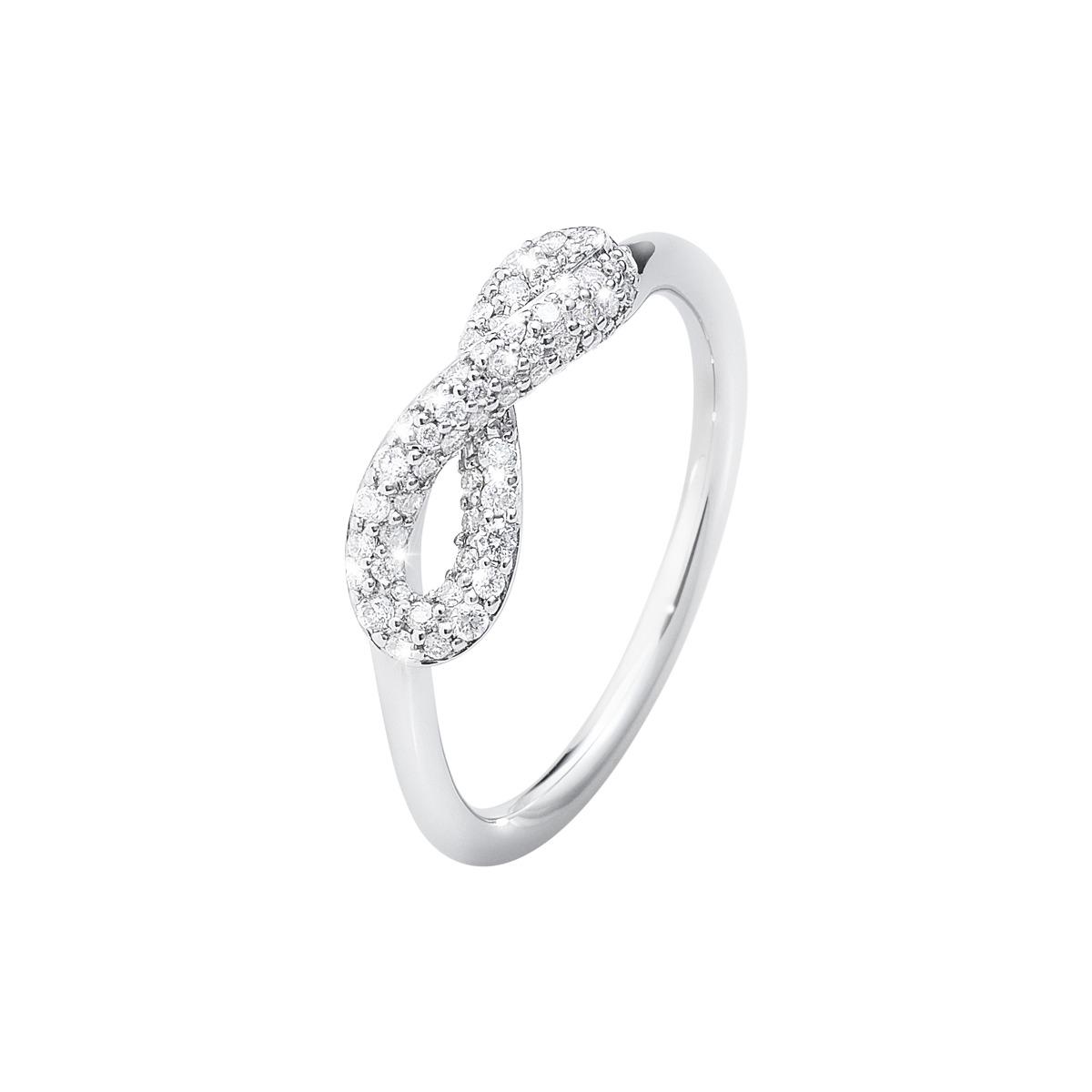 Image of   Georg Jensen INFINITY ring - 3560440 Størrelse 53