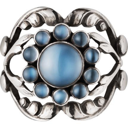 Georg Jensen MOONLIGHT BLOSSOM ring - 3550260 Størrelse 55