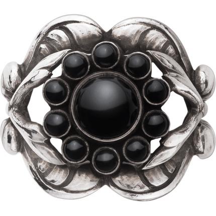 georg jensen moonlight blossom ring - 3558580 størrelse 54 fra georg jensen