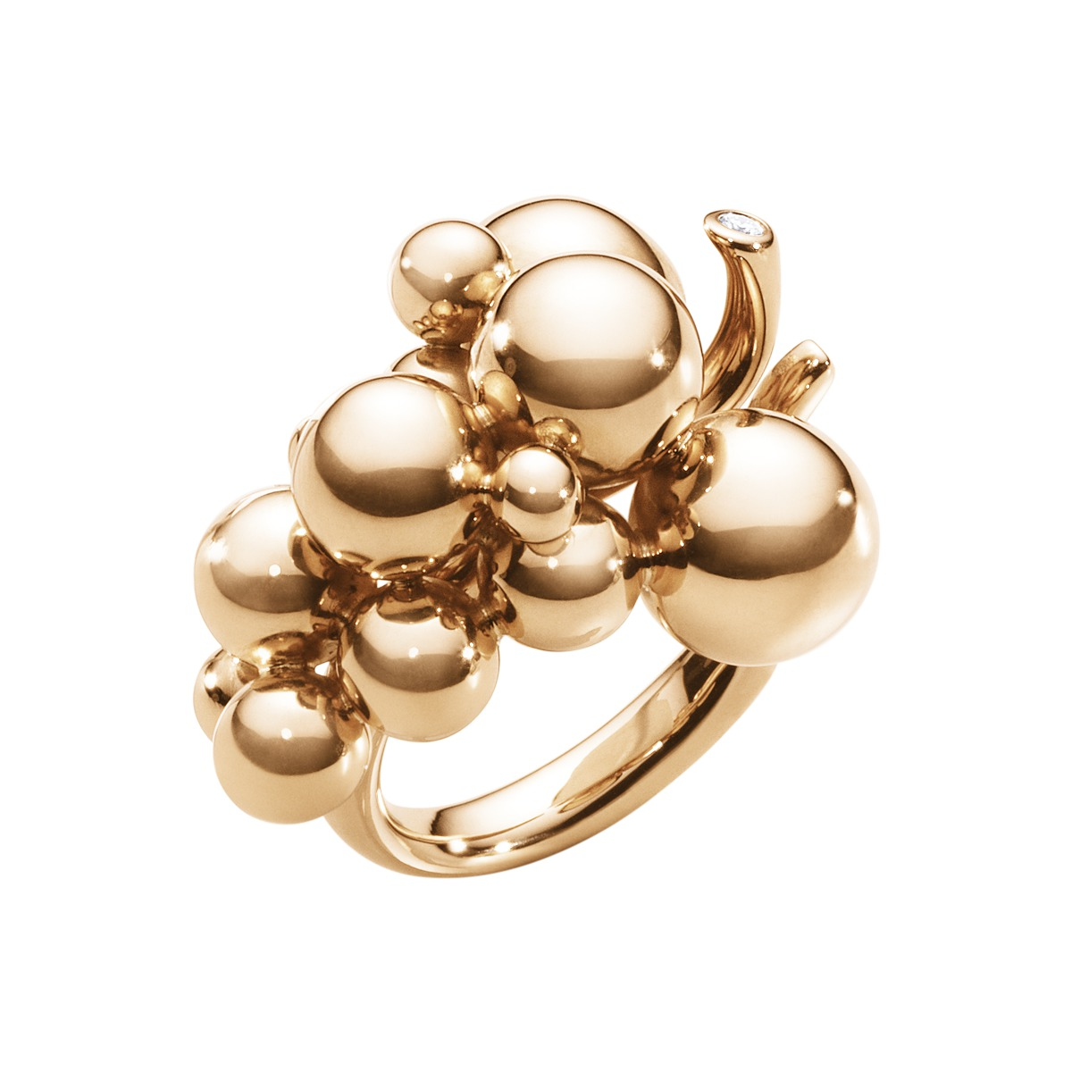 Image of   Georg Jensen MOONLIOGHT GRAPES ring - 3572480 Størrelse 56
