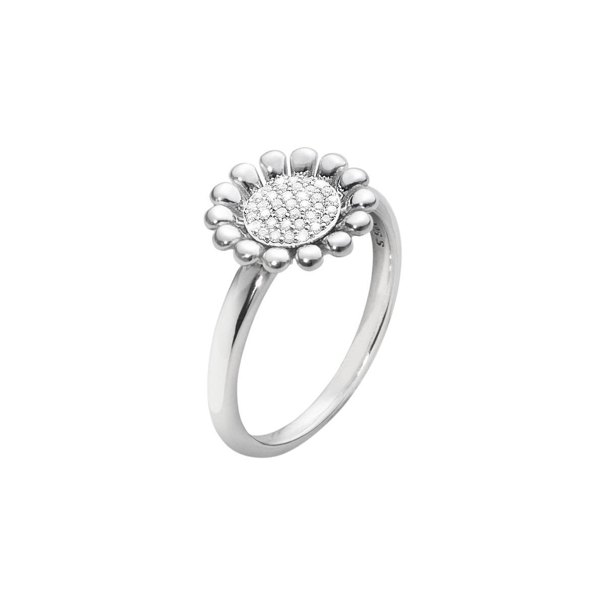 Georg jensen sunflower ring - 3560380 størrelse 51 fra georg jensen på brodersen + kobborg