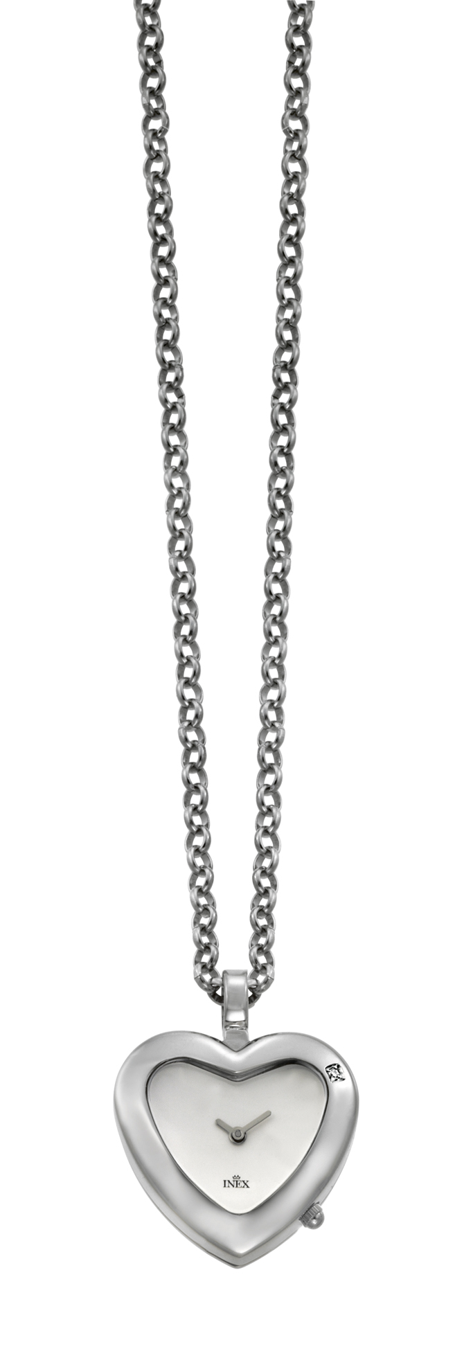 inex – Inex hjerte vedhængs ur - a34627s4 fra brodersen + kobborg