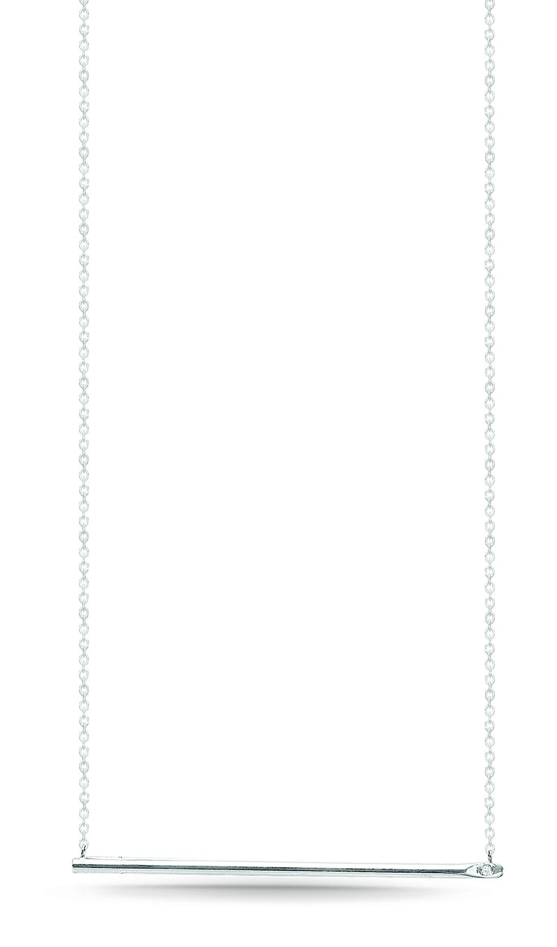 Image of   Kranz & Ziegler Sølv halssmykke - 6203584-45