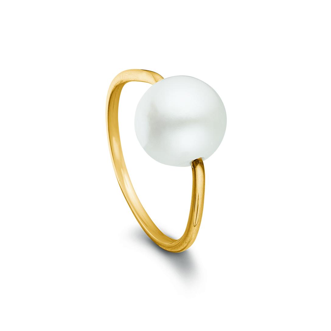 Image of   Kranz & Ziegler 8 kt ring - 8305532 Størrelse 54