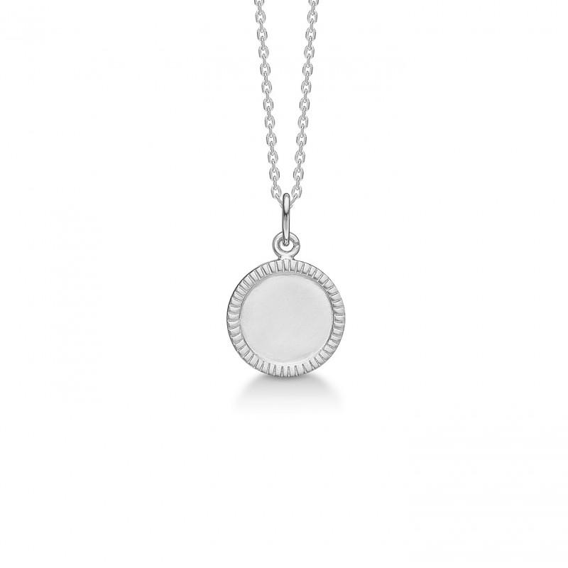 Billede af Sølv vedhæng med kæde Victorian - 2120120