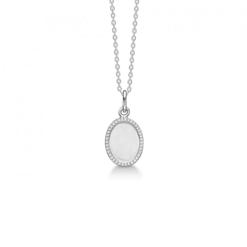 Billede af Sølv vedhæng med kæde Victorian - 2120121