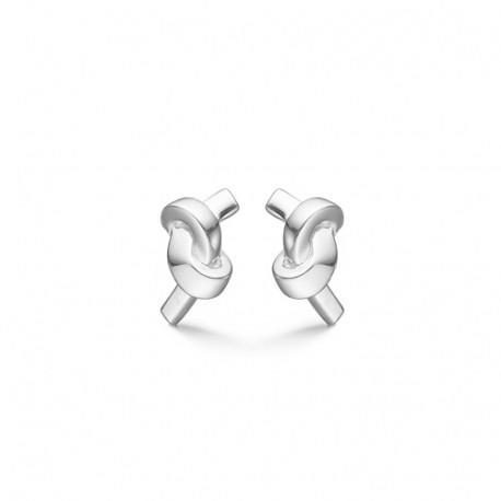 Billede af Sølv ørestikker Knot - 3110110