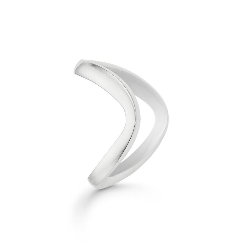 Billede af Sølv ring Boomerang - 3140107 Størrelse 52