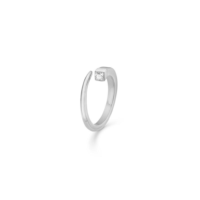Billede af Sølv ring Square - 3147123 Størrelse 56