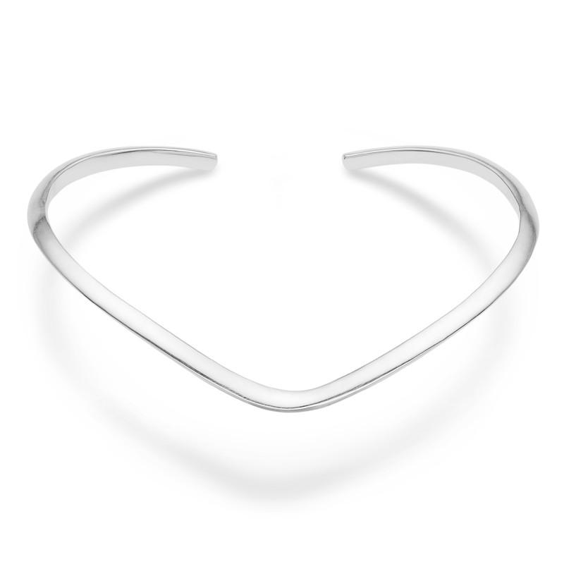 Sølv armring boomerang - 3160107 fra mads ziegler fra brodersen + kobborg