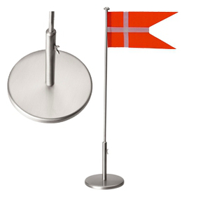 Image of Flagstang fortinnet massiv 30 cm - 150-76021