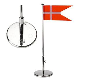 nordahl andersen – Flagstang sølvplet massiv med dåb 40cm - 150-87024 på brodersen + kobborg