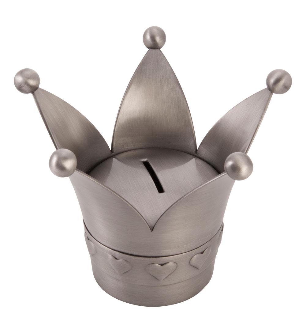 Fortinnet sparebøsse prinsessekrone - 152-76100 fra nordahl andersen på brodersen + kobborg