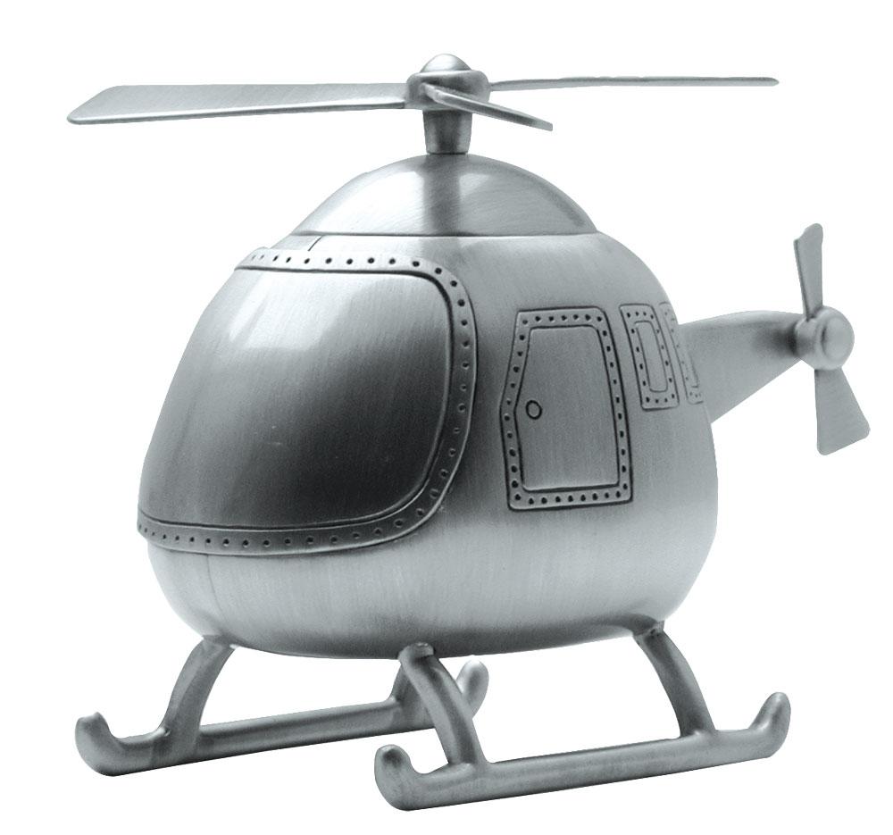 Billede af Fortinnet sparebøsse helikopter - 152-76613